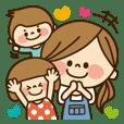 かわいい主婦の1日【ママ編】
