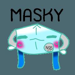 Masky the hero