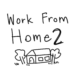 Text for Work From Home boy 2
