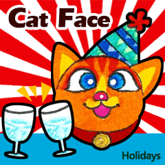 Expressive Cat - Holidays