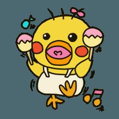 Daily life of Oribon-Hiyoko