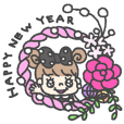 I am pearl ribbon.3-happy new year-