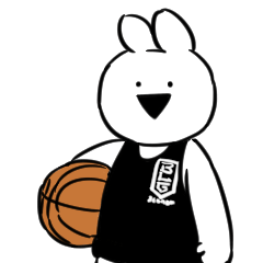 B.LEAGUE x Over Action Rabbit
