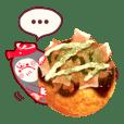 Kurukuru Takoyaki -Sauce taste-