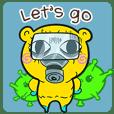 Paranoid Bear X COVID-19(English)