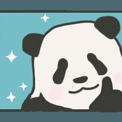 熊猫パンダ。毎日使える