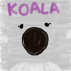 Koala sticker(creature series)
