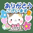 【カスタム】リボンと三毛猫