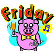 PINK PIG - CUTE FUNNY & HAPPY