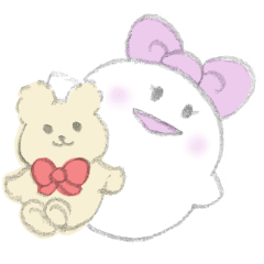 girl of the ghost and stamp of the bear