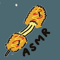 [Eating Sounds]ASMR Sticker[Do not eat]