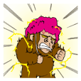 Primate strongest sticker