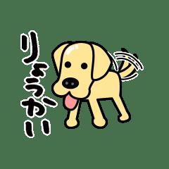 ラブラドール犬_つやぴかクリーム丸