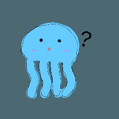 Jellyfish fluttering
