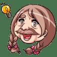 Barbel Maiden ~Braid hair version~