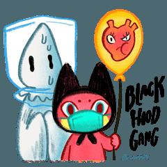 BlackhooD gang fights the virus