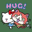 โยไควอทช์ × Sanrio characters