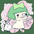 Tissue-chan&Koyori-chan by peco