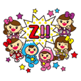 Momoiro Clover Z and Fuwappy