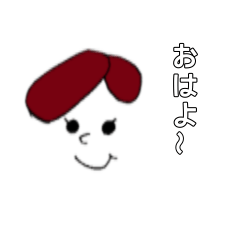 One-length hair Girl