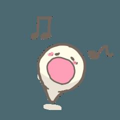 Hoya baby sticker