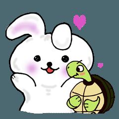 Cute rabbit Pyonko