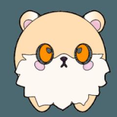 The little cute Oog bear