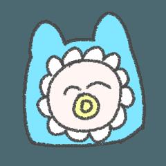 Strange Baby Sticker