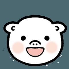 a little pig face