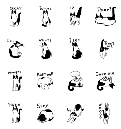 The cat of being natural (english)