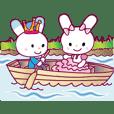 pink princess rabbit5