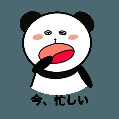 ちょっと性格の悪いパンダ1