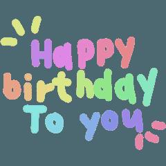 happy birthday to you ,my love