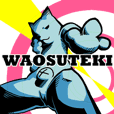 WAOSUTEKI Sticker