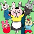 Usagi Rabbit family