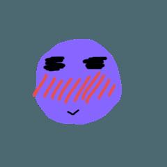 有個性的紫球