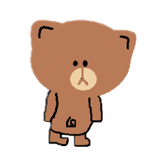 Bear cute simple