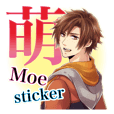 MOEMOE sticker(EN)