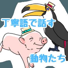Polite speaking animals