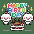動く!白たまの誕生日&お祝い