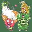 Full funny Vegetables