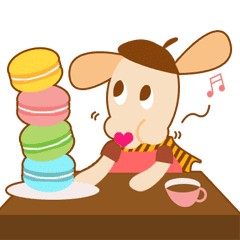 Pepe The Dog Line Stickers Line Store