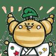 さと丸くん(奈義町特産農産物キャラクター)