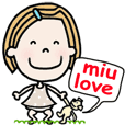 miu love - English ver. -
