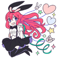 A Cute Little Rabbit Girl