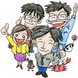 Reporters of Fukuishinbun making Fukui