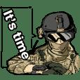 Airsoft gamer's Sticker(English ver.)