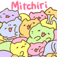 Mitchiri Neko Mitchiri Stickers