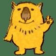 Dossu-kun (Fatty wombat)