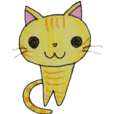 """red tabby cat """"Kinako"""""""